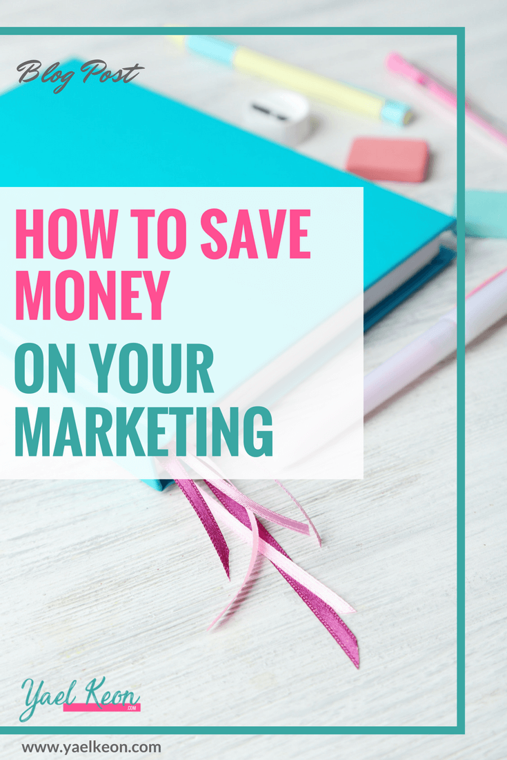How to save money on your marketing